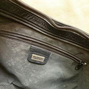 Barbara Bui hand tooled hobo bag